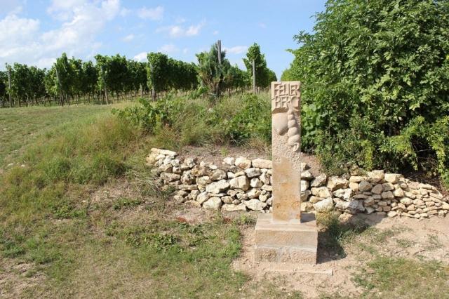 Stele im Feuerberg