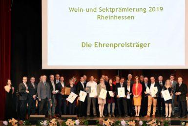 Ehrenpreisträger Weinprämierung 2019